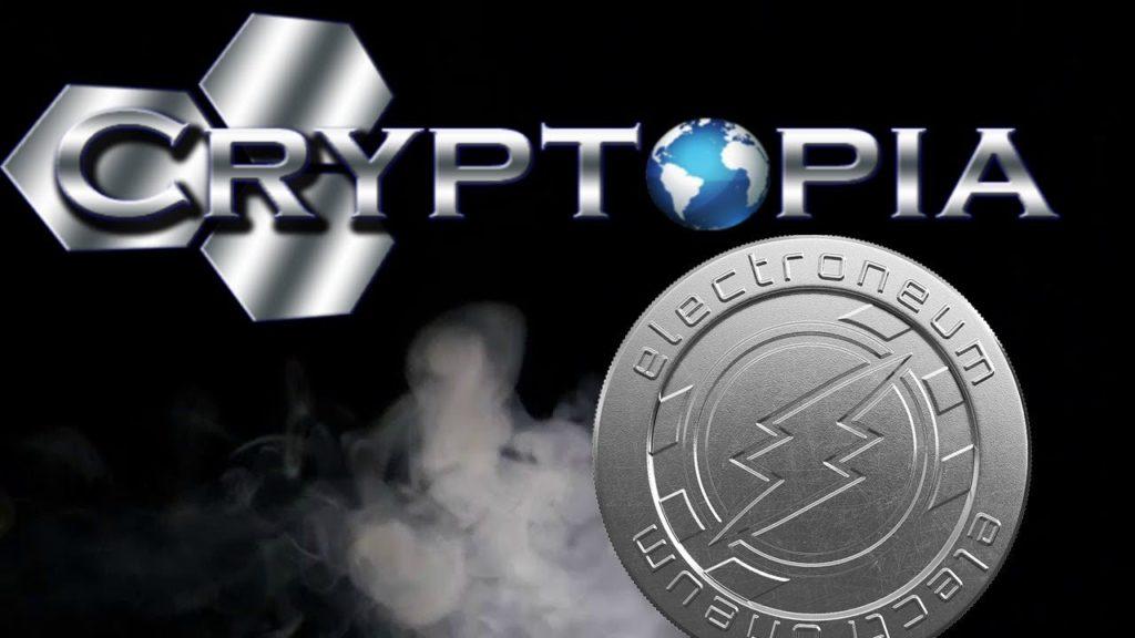 Торговая площадка Cryptopia