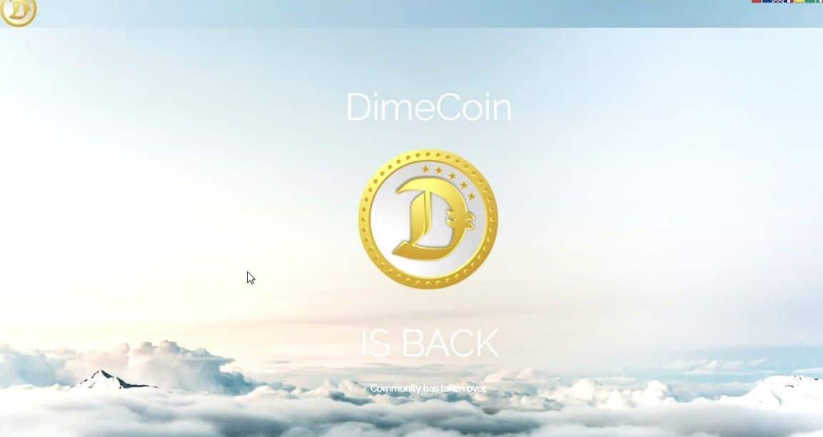 Криптовалюта dimecoin