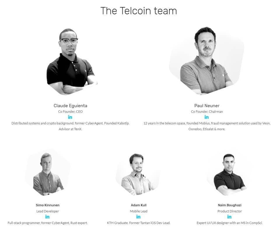 Команда Telcoin