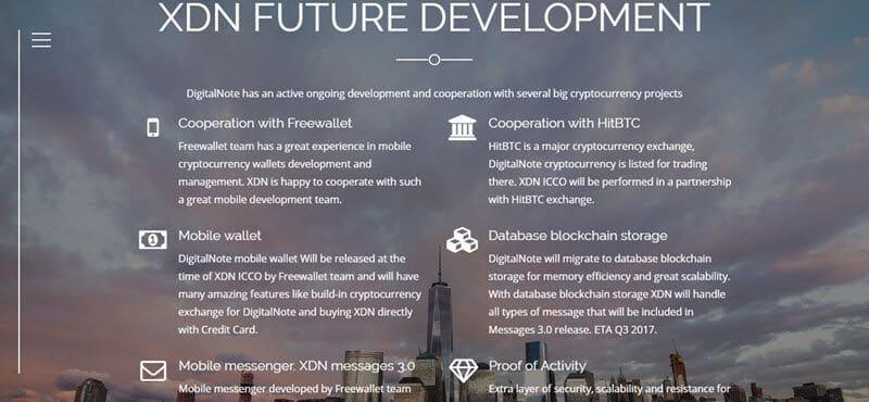 Направления развития XDN